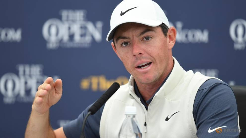 More than half the field could win Open at Carnoustie, says McIlroy
