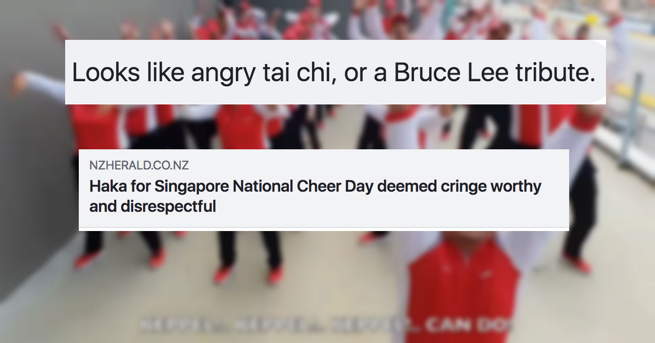 Keppel's NDP cheer gets reported on by New Zealand media, New Zealanders confused