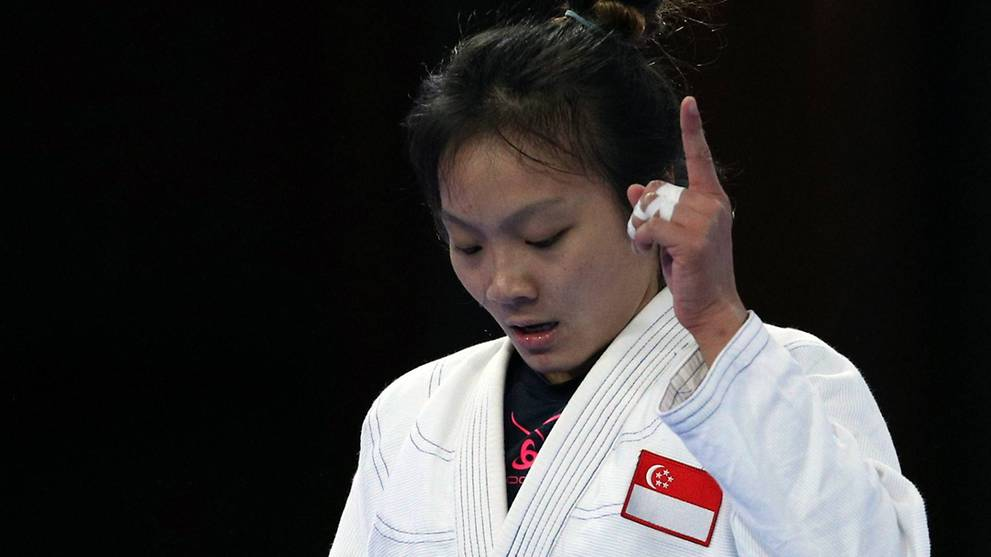 Constance Lien hopes success will boost jujitsu's profile in Singapore