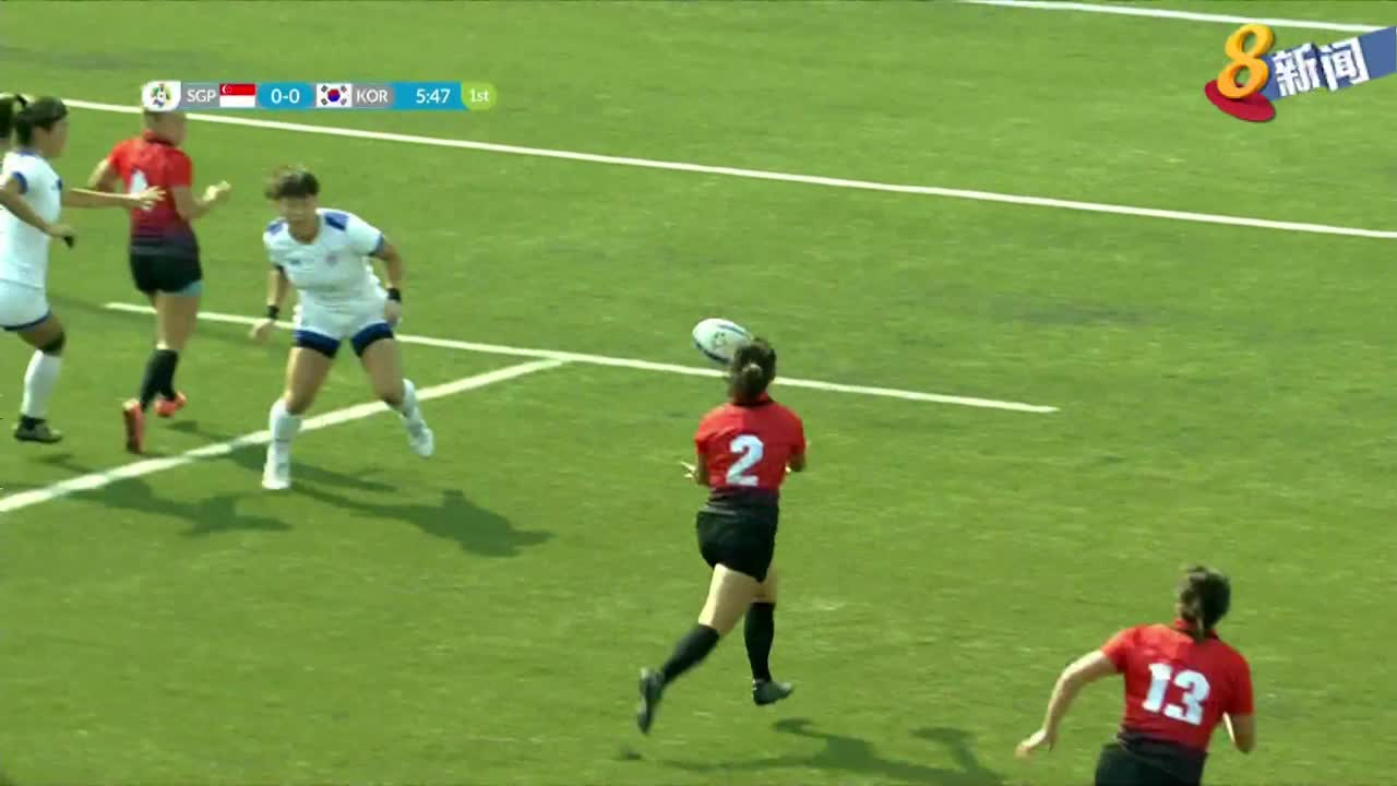 【亚运会】七人制橄榄球 我国女队迎来首场胜利
