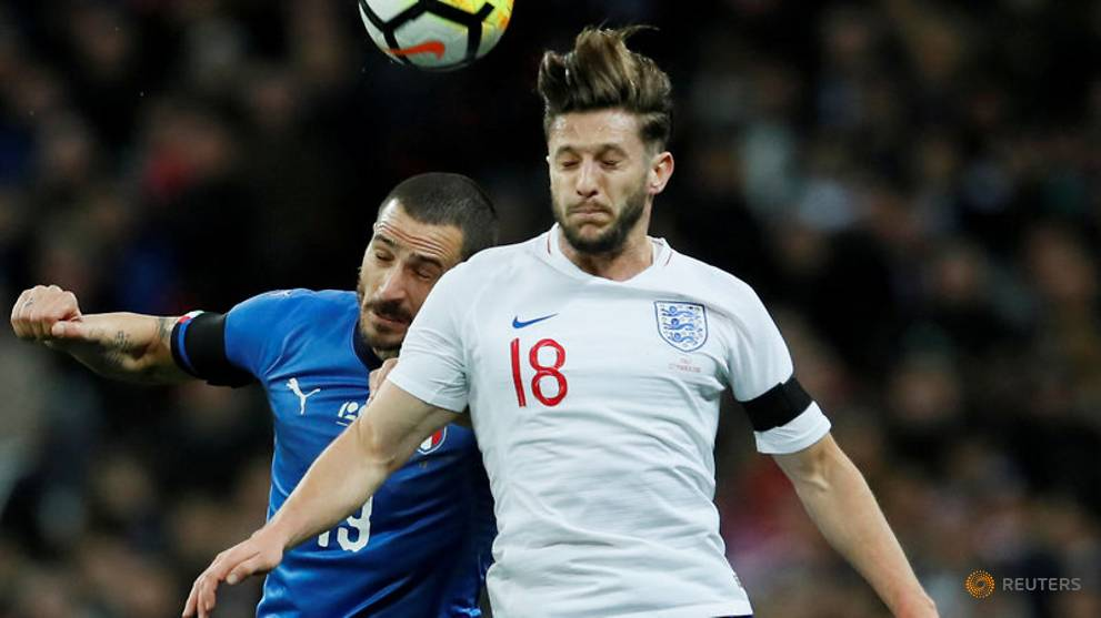 Football: Lallana ruled out of England squad with groin injury