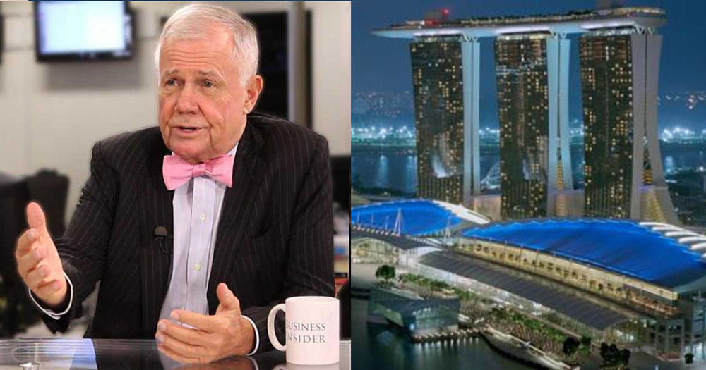 US billionaire Jim Rogers surprised by S'poreans' poor command of English & Chinese when he moved here
