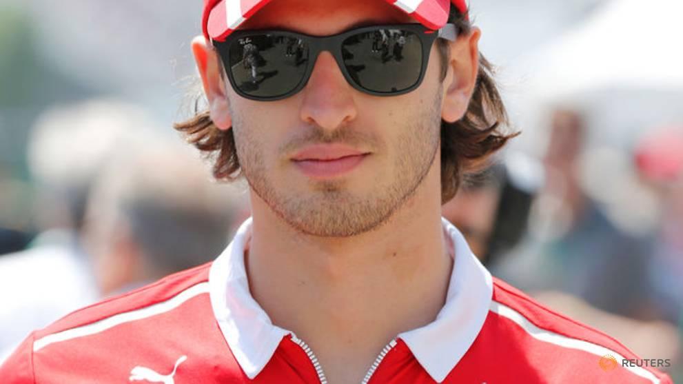 Sauber name Giovinazzi as Raikkonen's partner for next season