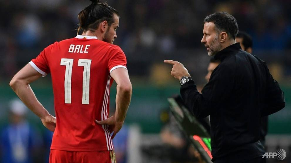 Football: Giggs plays down fears over Bale injury ahead of Wales v Spain clash