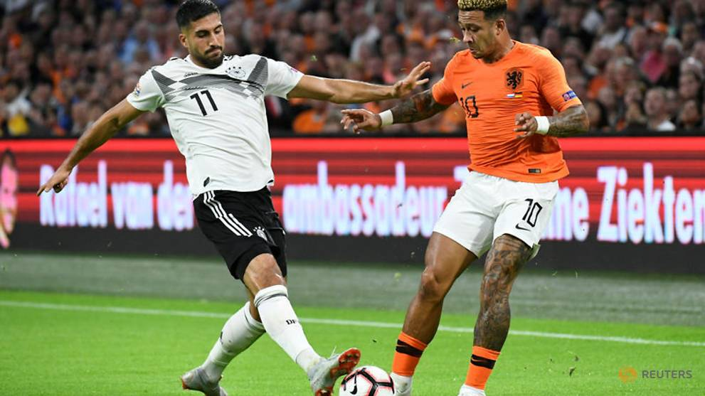 Depay shines as Netherlands thump Germany to heap pressure on Loew