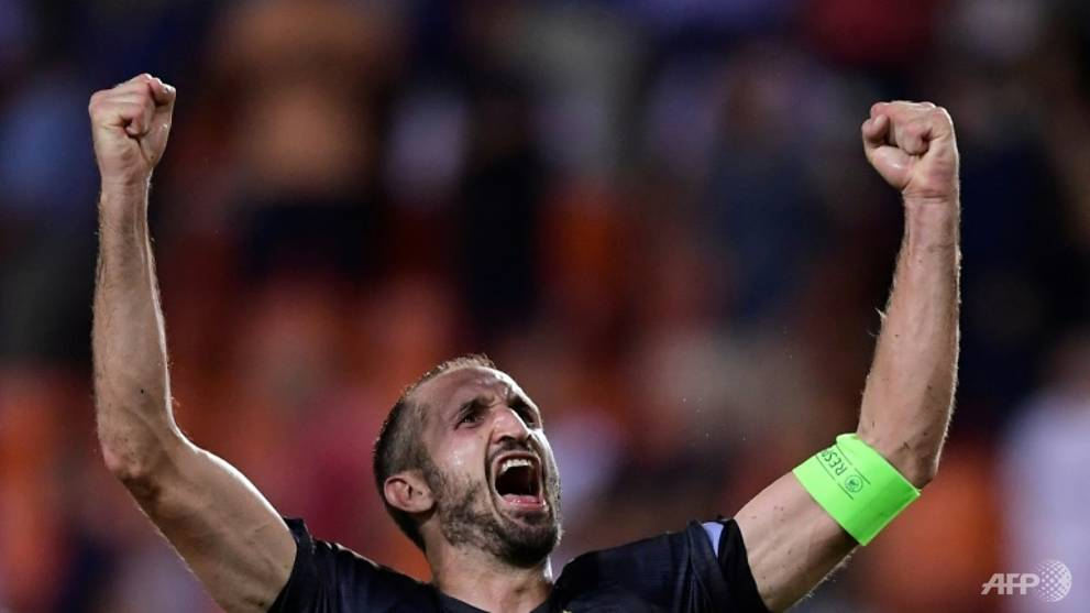 'Being able to play football is not enough': Chiellini urges players to study