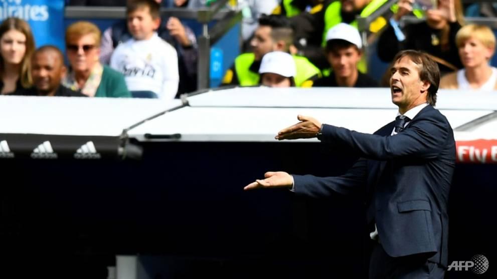 Football: Pressure mounts on Lopetegui as Madrid beaten by Levante