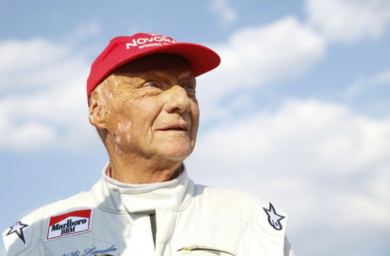 Joking Lauda putting pressure on Mercedes to win says Hamilton