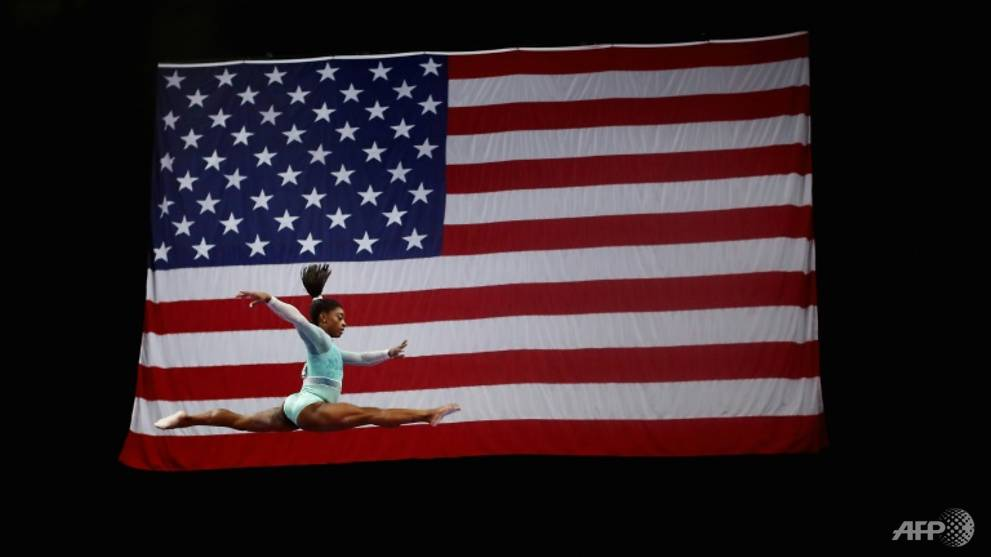 All eyes on Biles at world gymnastics in Qatar