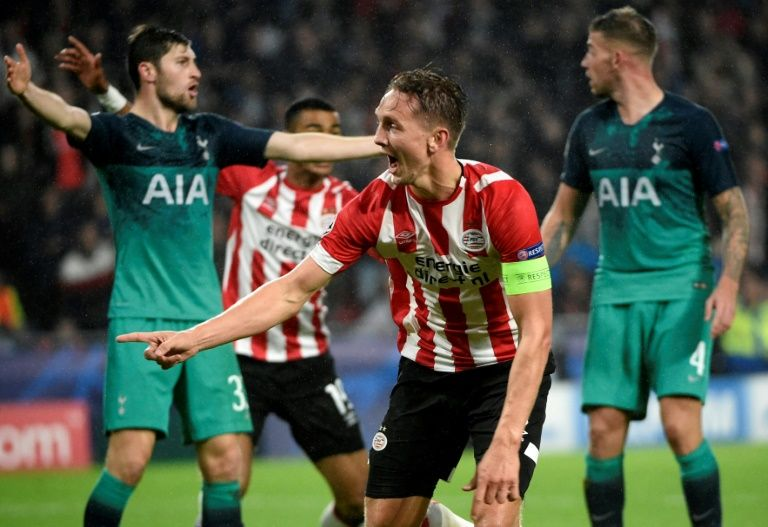 Pochettino pessimistic as PSV pummel Spurs' Euro hopes