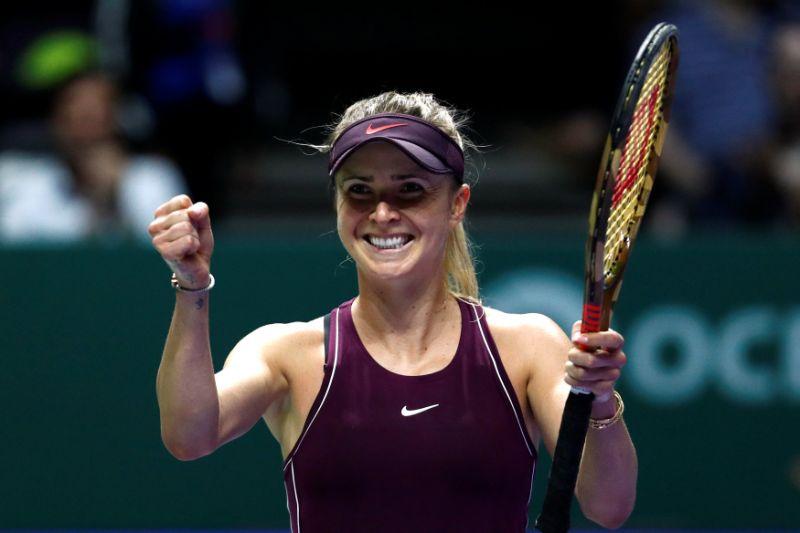 Svitolina, Pliskova advance as defending champ Wozniacki exits WTA Finals