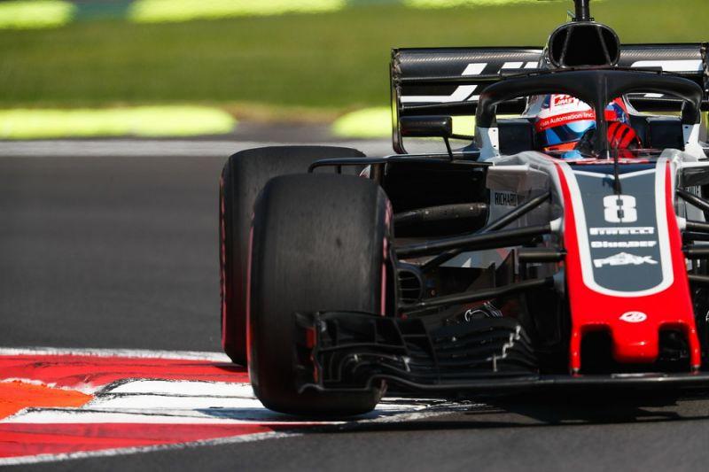 Ban threat making Grosjean extra cautious during Mexican Grand Prix