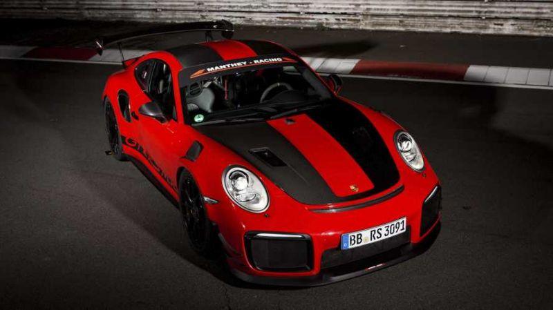 Porsche 911 GT2 RS MR spied during return to Nürburgring