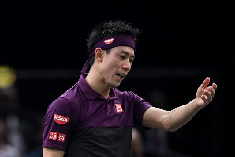 Nishikori replaces injured Del Potro at ATP Finals