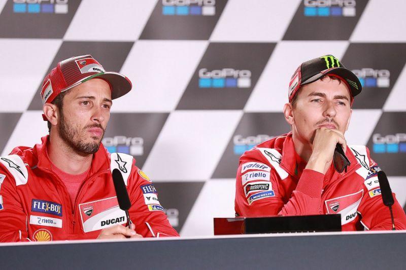 Lorenzo lashes out at 'envious' Ducati MotoGP team-mate Dovizioso