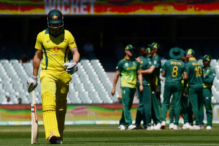 Australia all out for 231 against South Africa