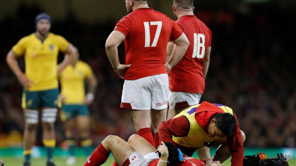 Wales' Halfpenny suffers concussion, prop Lee ruled out