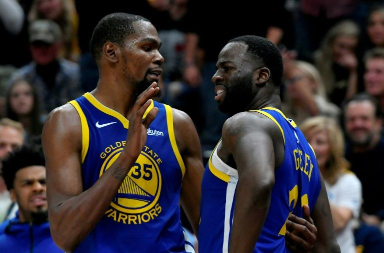 Green benched by Warriors after Durant spat