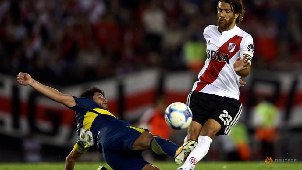 River Plate's Ponzio fit for Libertadores final second leg