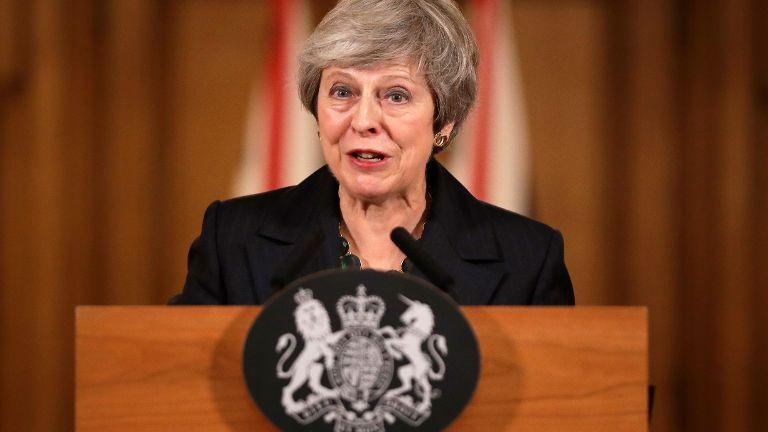特里萨梅:会如期将脱欧协议提呈下议院表决