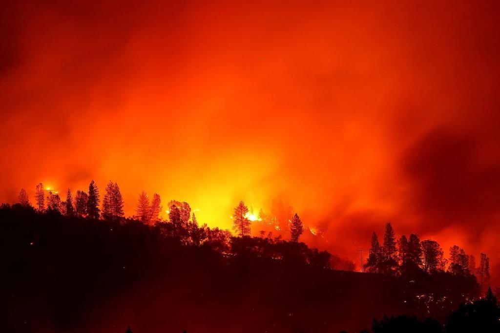 死伤人数继续上升,加州山火已致至少66死 600多人失踪
