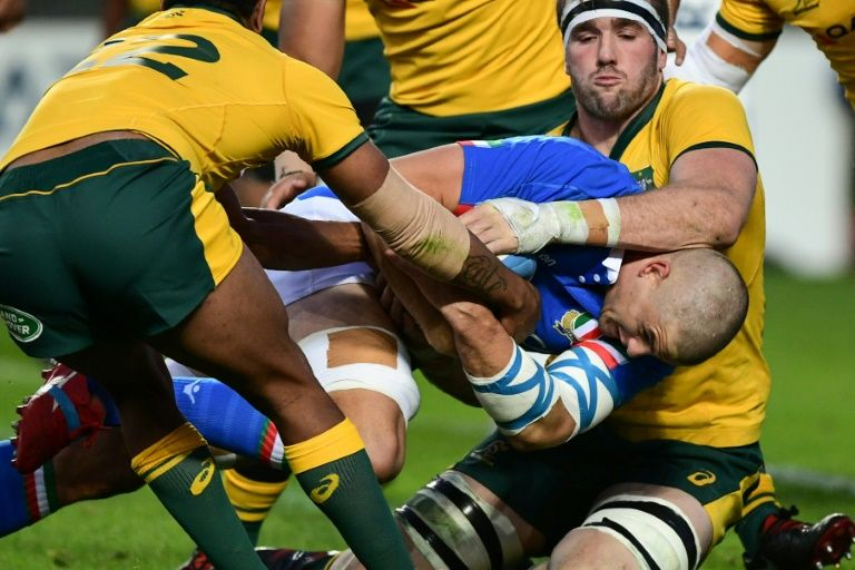 Australia crush Italy 26-7 in autumn Test