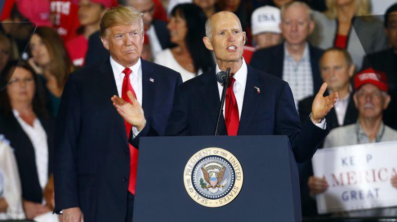 Florida gov. Rick scott formally ousts democrat bill nelson after recounts
