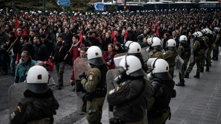 Greece marks anniversary of anti-junta uprising