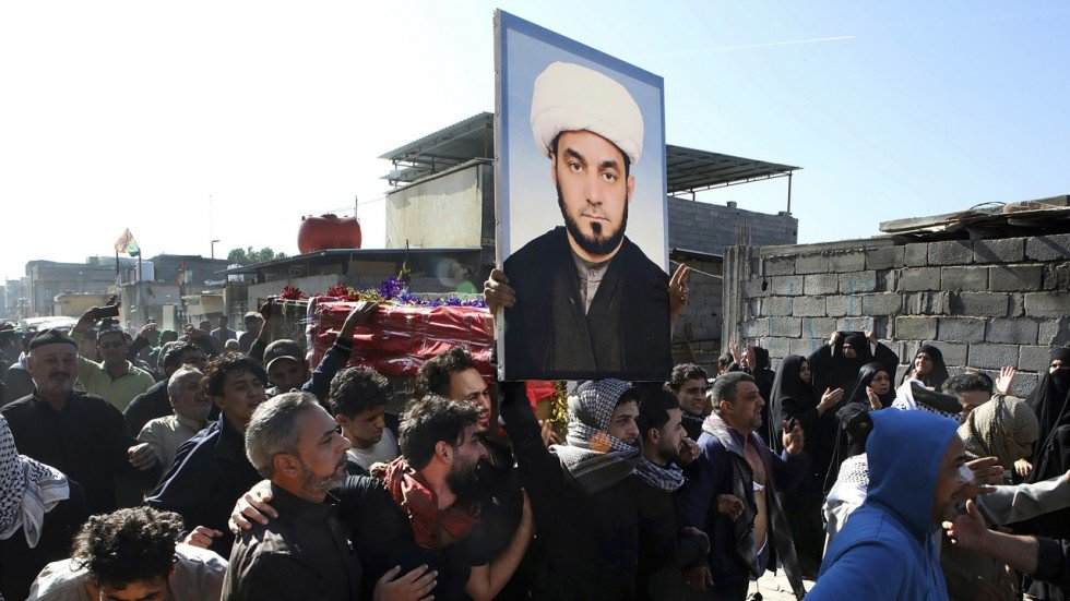 Iraqi cleric who called for armed revolt over poor public services shot dead outside home in Basra