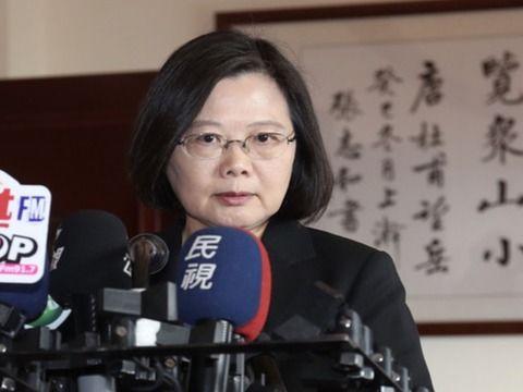 """蔡英文回应金马奖风波:从未接受""""中国台湾""""说法"""