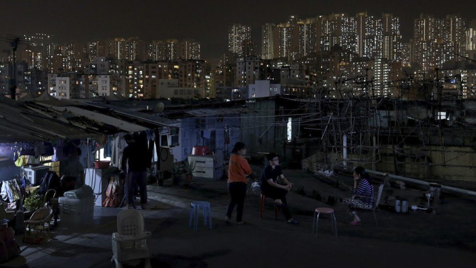 Record 1.37 million people living below poverty line in Hong Kong as government blames rise on ageing population and city's improving economy
