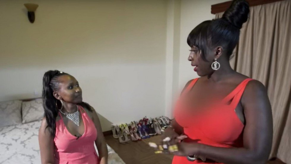 BBC in censorship row after blurring cleavage of Kenya's 'Glamour Pam'