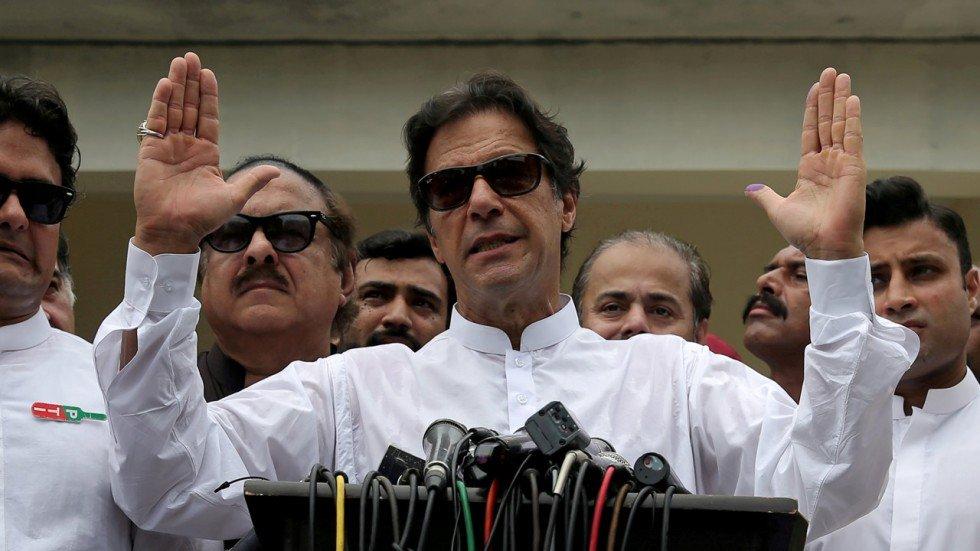 Pakistani prime minister Imran Khan hits back on Twitter against Donald Trump's 'tirade' over Pakistan