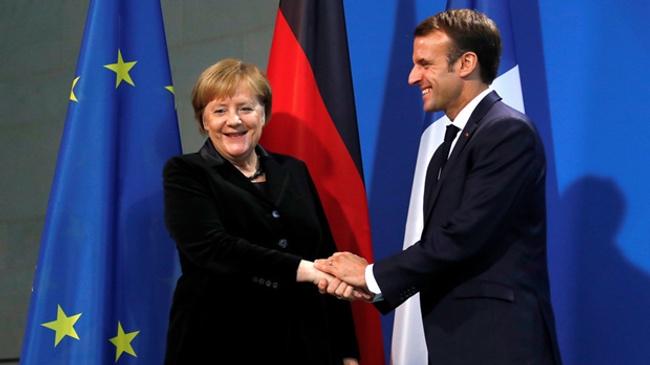 马克龙呼吁强化欧洲主权 外媒:默克尔反应冷淡