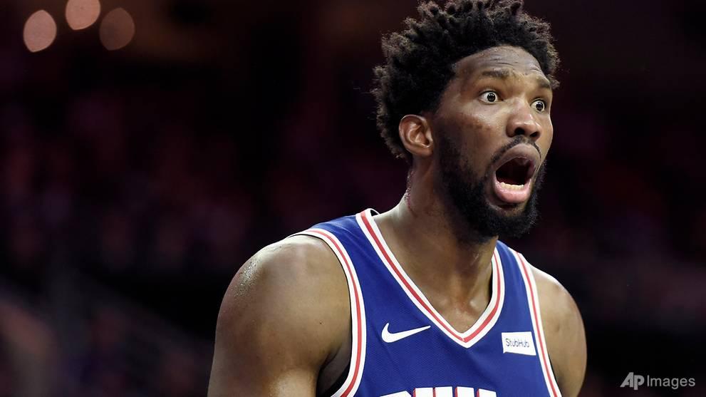 Basketball: Embiid leads 76ers win, Westbrook falls in NBA return