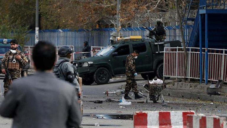 阿富汗自杀式炸弹袭击 至少40死60受伤