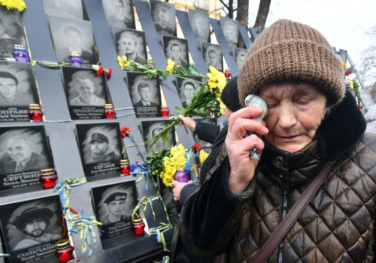 Ukraine marks five years since bloody maidan uprising