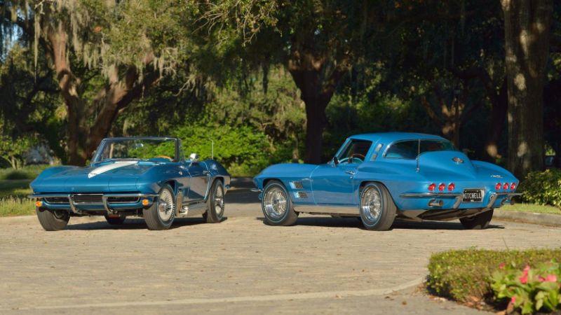 Chevrolet Corvette pair shows C2 designs that never were