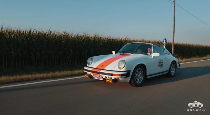 Call 911 for the coolest Porsche police car ever