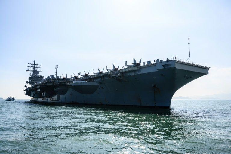 US carrier visits Hong Kong amid heightened China tensions