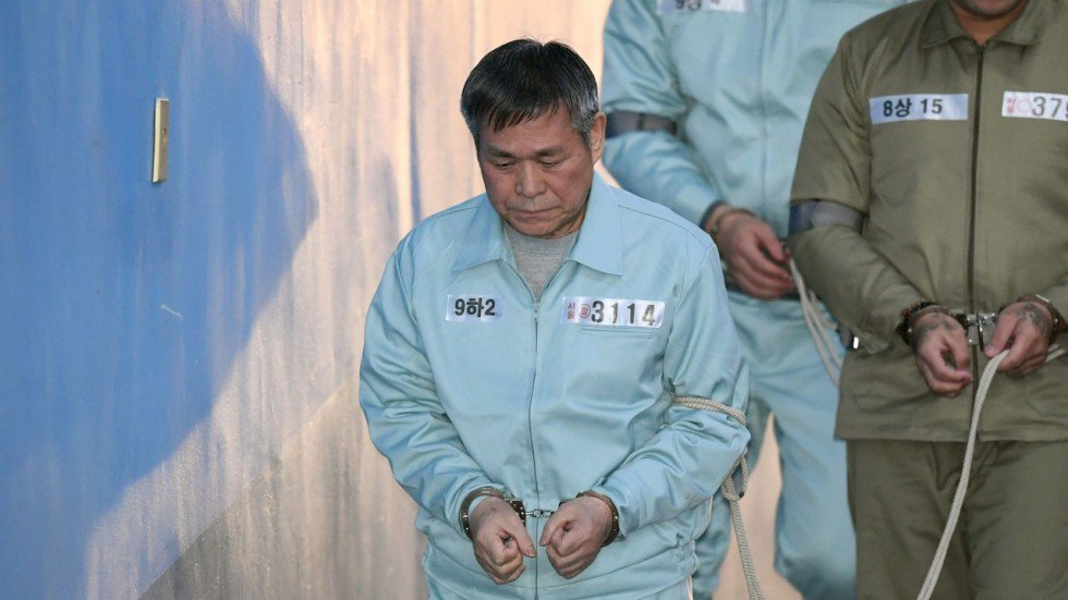 South Korean cult leader gets 15 years in jail for raping followers who thought he was a god