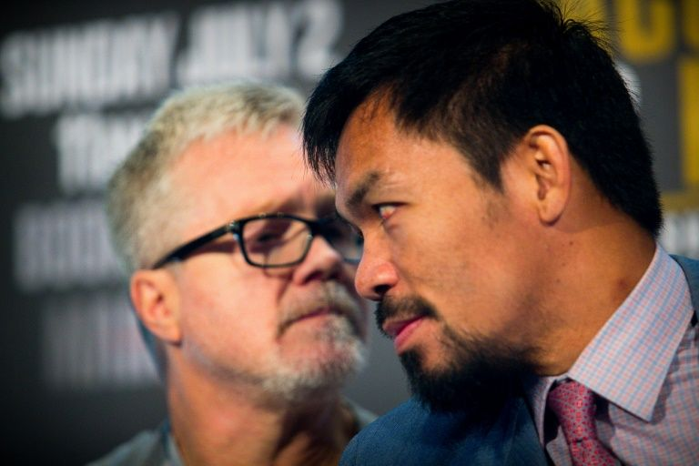 Roach reunites with Pacquiao for January fight: report