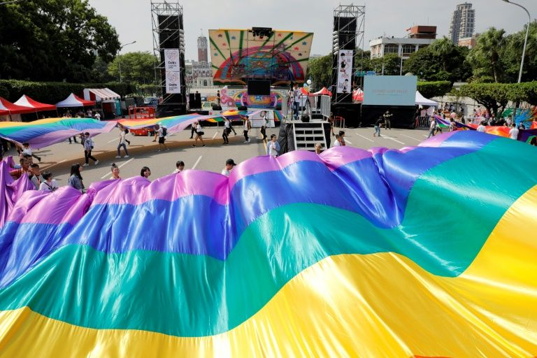 Taiwan gay rights activists nervous ahead of referendum clash