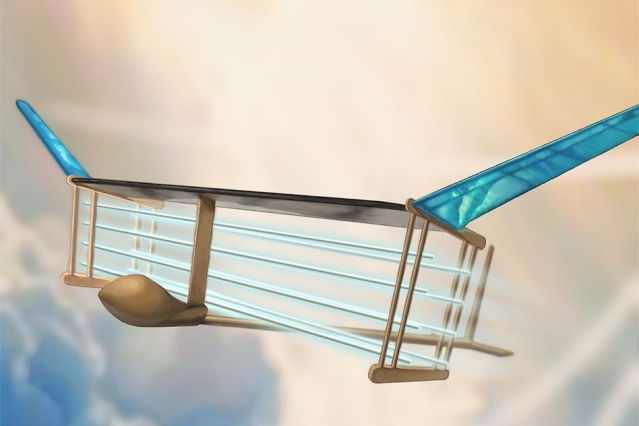This is world's first flight without moving parts and it doesn't need fuel to fly
