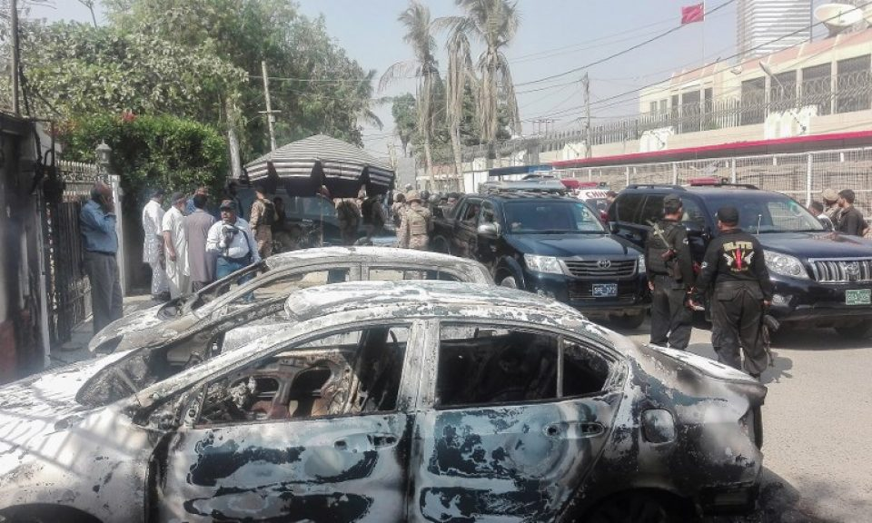 Baloch separatists claim attack on Chinese Consulate in Karachi
