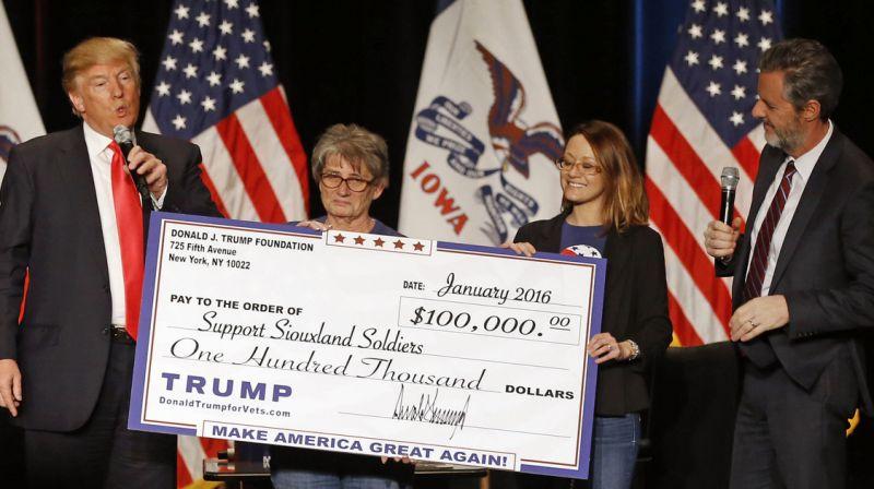 Judge rejects Trump's request to dismiss lawsuit against trump foundation
