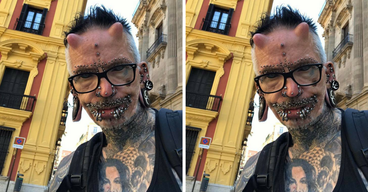 The most pierced man in the world reveals half of his 400 piercings are below the belt