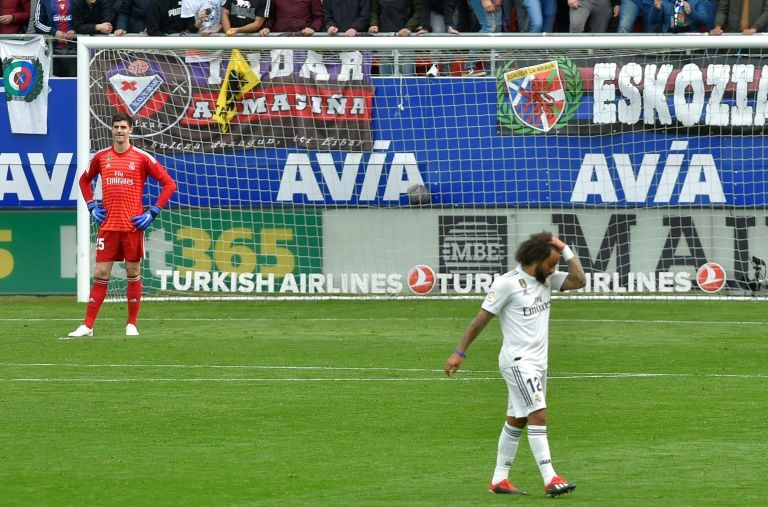 Solari and Ramos feel heat as Real Madrid crash at Eibar