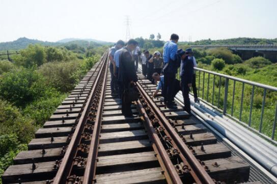 安理会给朝韩合作开绿灯 铁路视察或下周进行