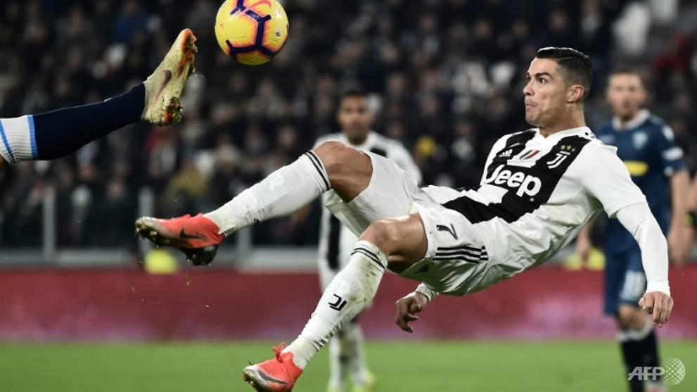 Football: Ronaldo, Mandzukic on target as Juventus ease past SPAL